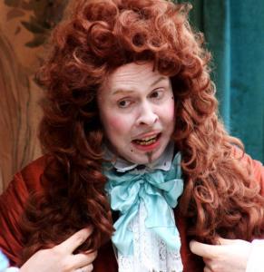 Theateraufführung von Venez-y-Voir beim Tag des offenen Denkmals im Garten von Schloss Augustusburg Brühl