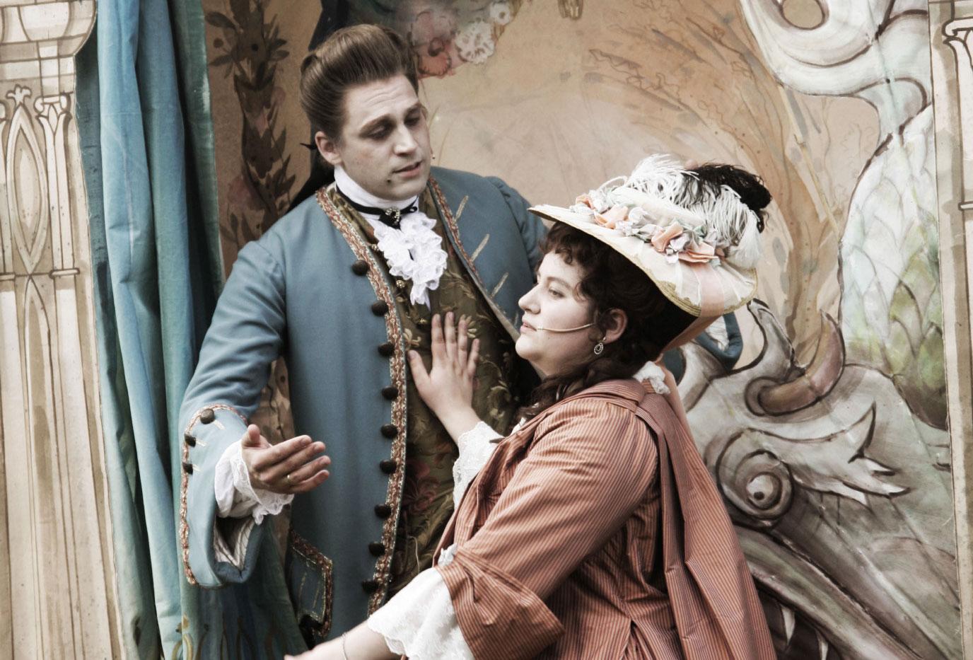 Theater mit Venez-y-Voir bei den Barocktagen auf Schloss Clemenswerth